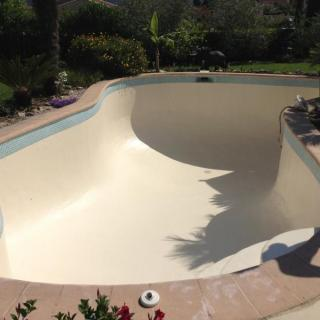Réalisations de piscine polyester